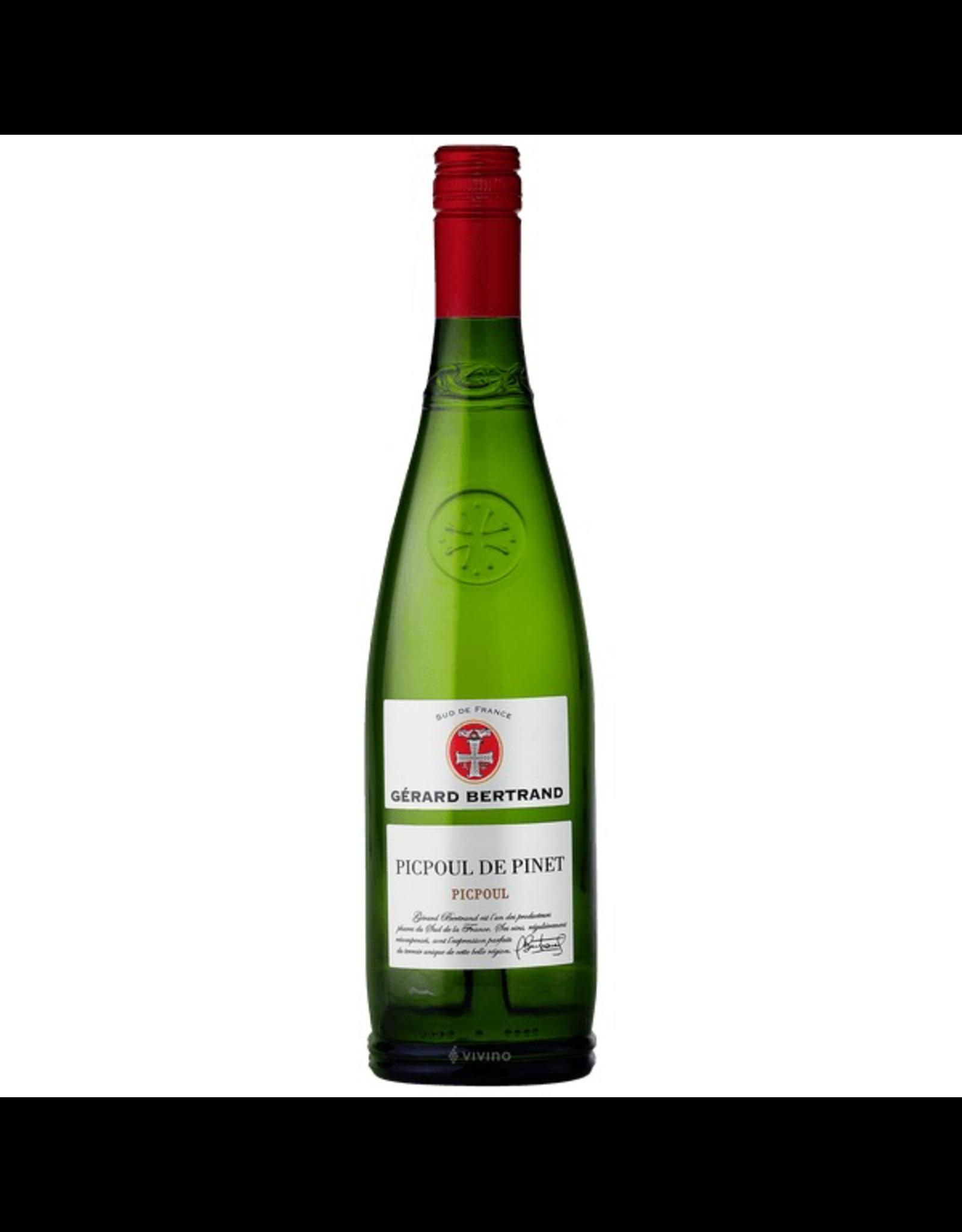White Wine 2019, Gerard Bertrand, Picpoul De Pinet, Picpoul, Pays D'OC, Languedoc Roussillon, Sud De France, 13% Alc, CTnr