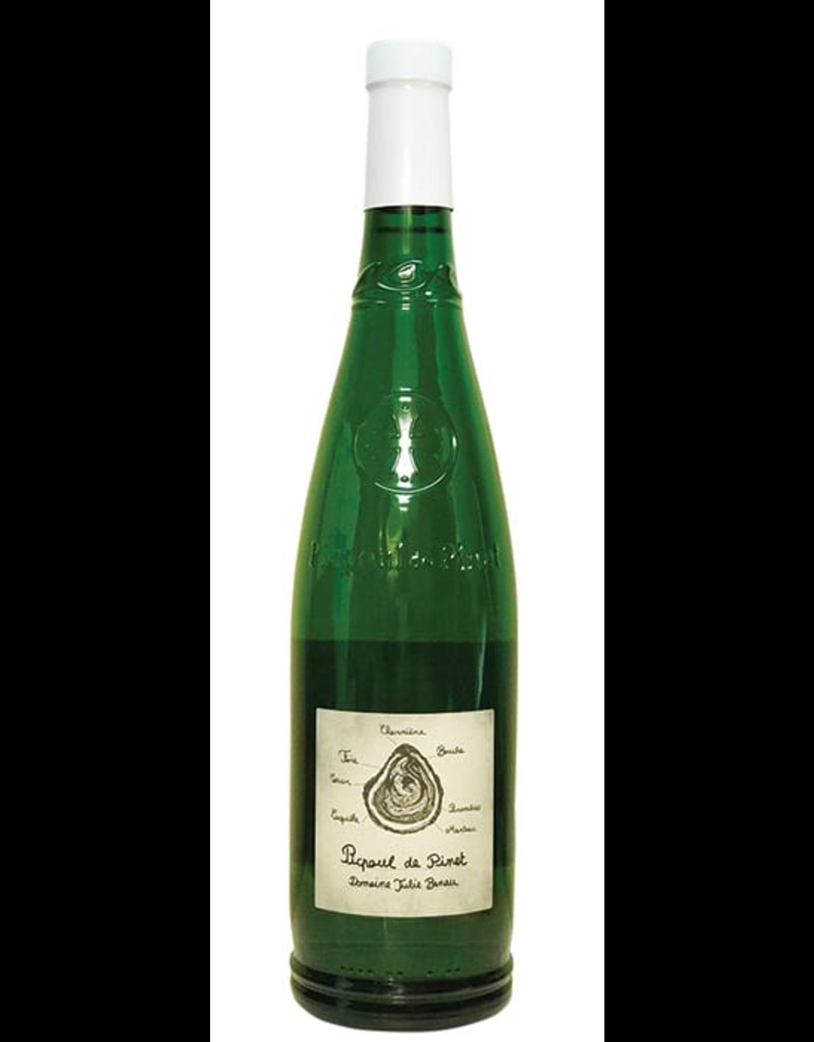 White Wine 2019, Domaine Julie Benau AOC, Picpoul De Pinet, Picpoul, Pays D'OC, Languedoc Roussillon, Sud De France, 13.5% Alc, CTnr