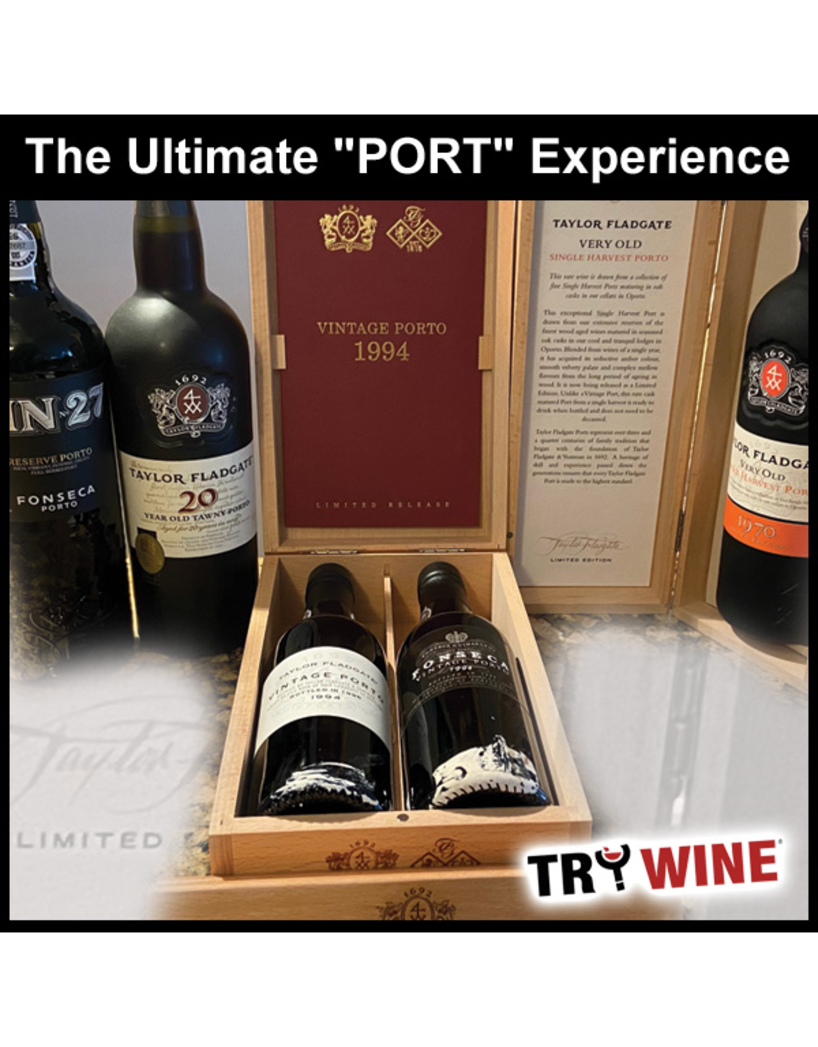 Special EVENTS PER PERSON - PORT TASTING with Appetizer Pairings, Thursday, May 27th, 2021 - Start 7pm - Limited to 25 Persons. $99.00 + suggested Gratuity & Tax
