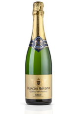 Sparkling Wine NV, Francois Montand Blanc de Blanc, Brut Sparkling, Jura Vineyards, Champagne, France, 12% Alc, CT