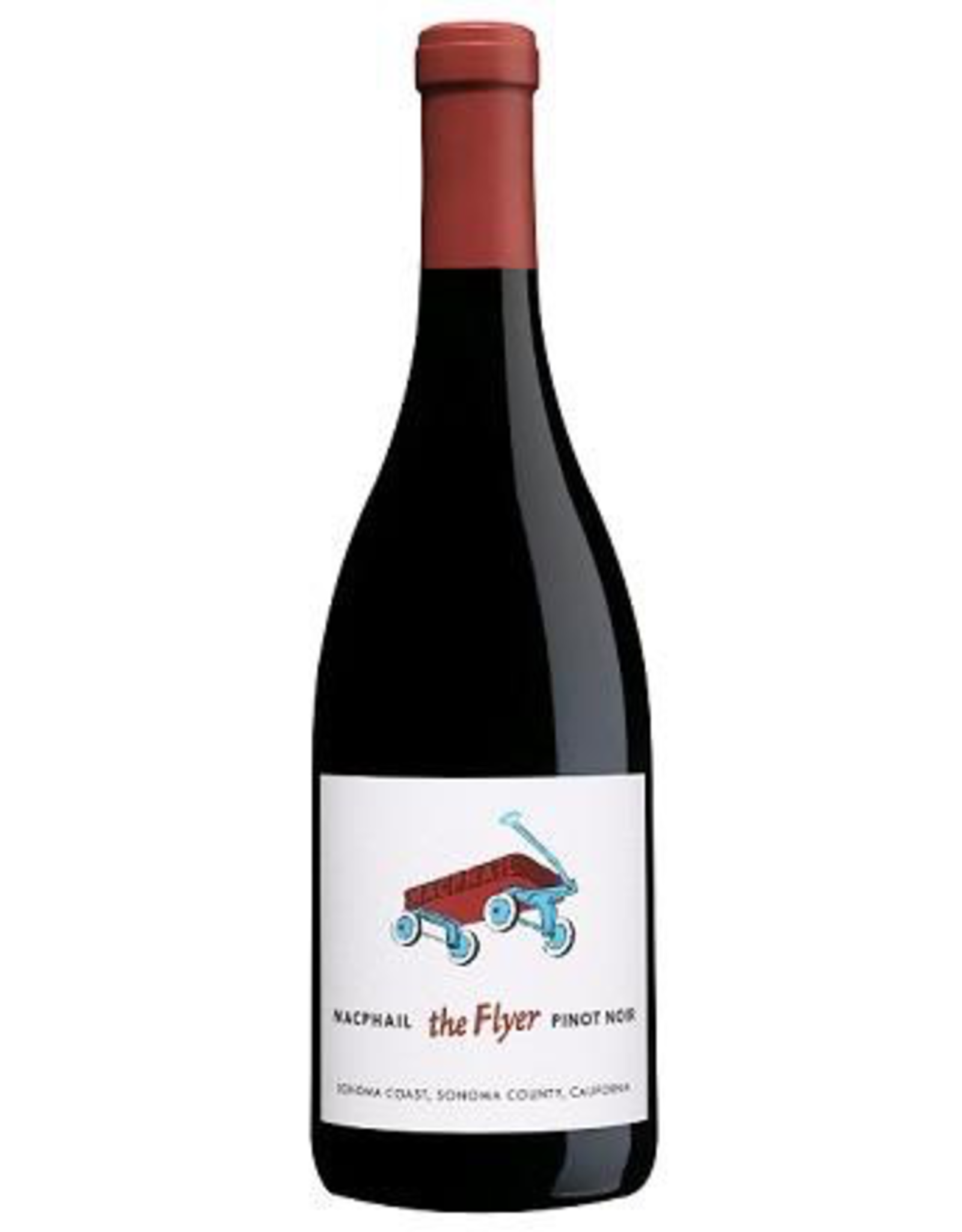 "Red Wine 2018, Macphail ""the Flyer"", Pinot Noir, Sonoma Coast, Sonoma County, California, 14.1% Alc, CTnr"