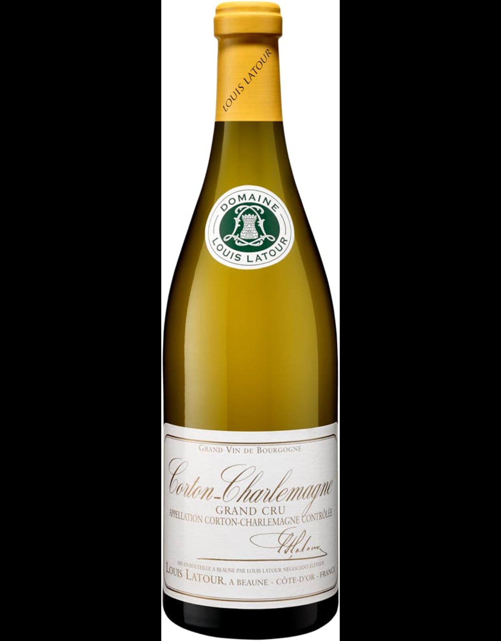 White Wine 2015, Louis Latour Corton-Charlemagne Crand Cru, Chardonnay, Corton-Charlemagne, Burgundy, France, 14.5% Alc, TWnr
