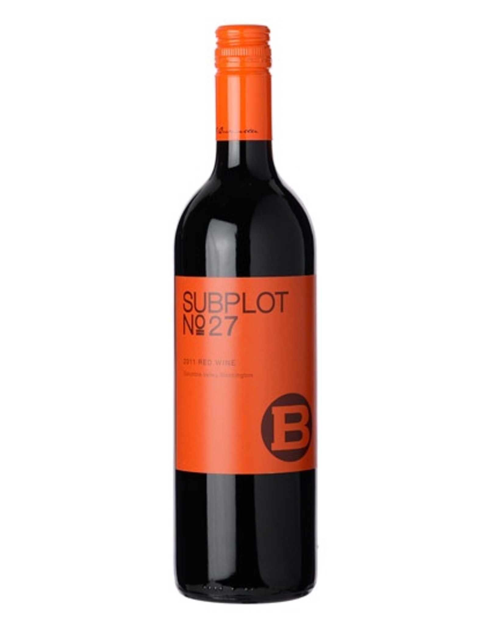 Red Wine 2011,Subplot No 27,Red Blend,Washington,UAS,Alc 14.2%