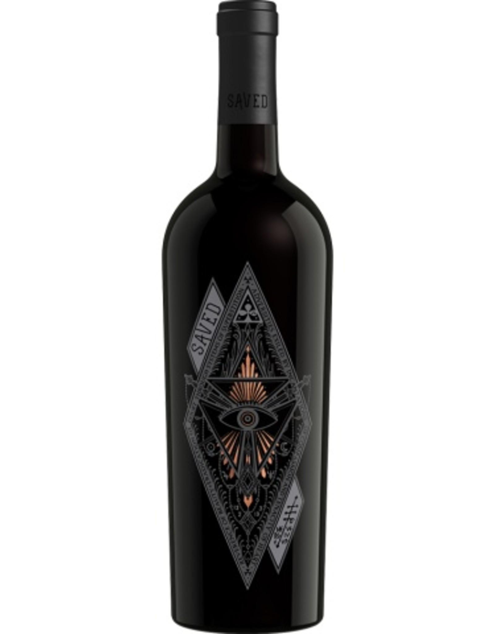 Red Wine 2016, Saved, Red Blend, Multi-regional Blend, Multiple AVA, California, 15.0% Alc, TW90