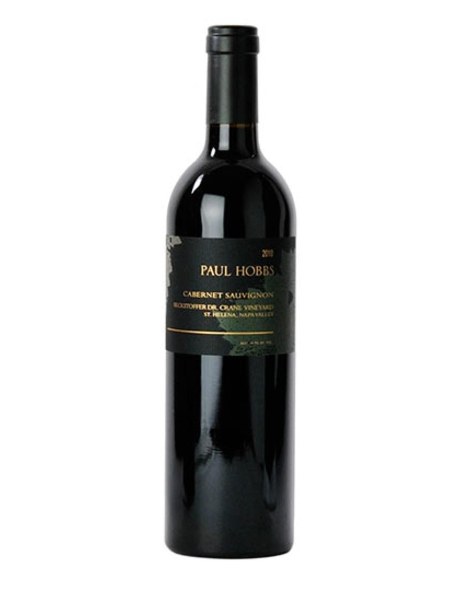 Red Wine 2014, Paul Hobbs Beckstoffer Dr. Crane Vineyard, Cabernet Sauvignon, St. Helena, Napa Valley, California, 14.5% Alc, CT94, RP100