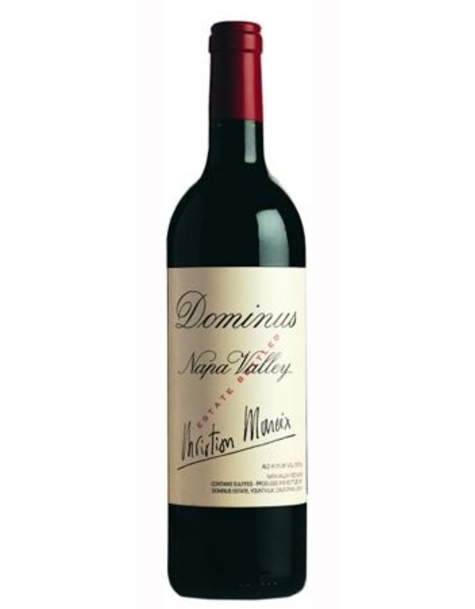 Red Wine 2012, Dominus Estate Christian Moueix, Red Blend, Yountville, Napa Valley, California, 14.5% Alc, CT93, RP98 JS98