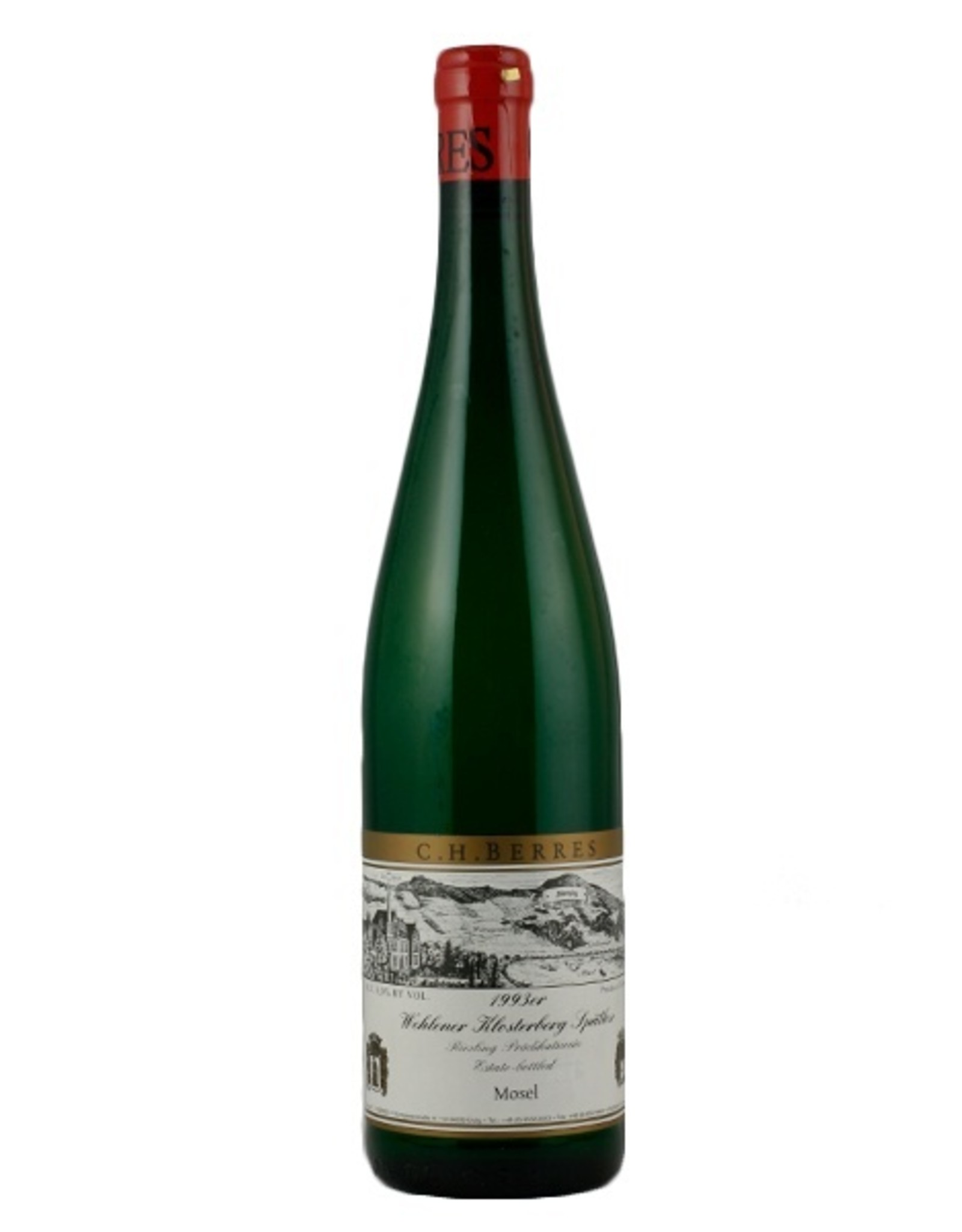 White Wine 1993, C.H. Berres Auslese,  Riesling, Urzinger Goldwingert, Mosel, Germany, 13.5% Alc,