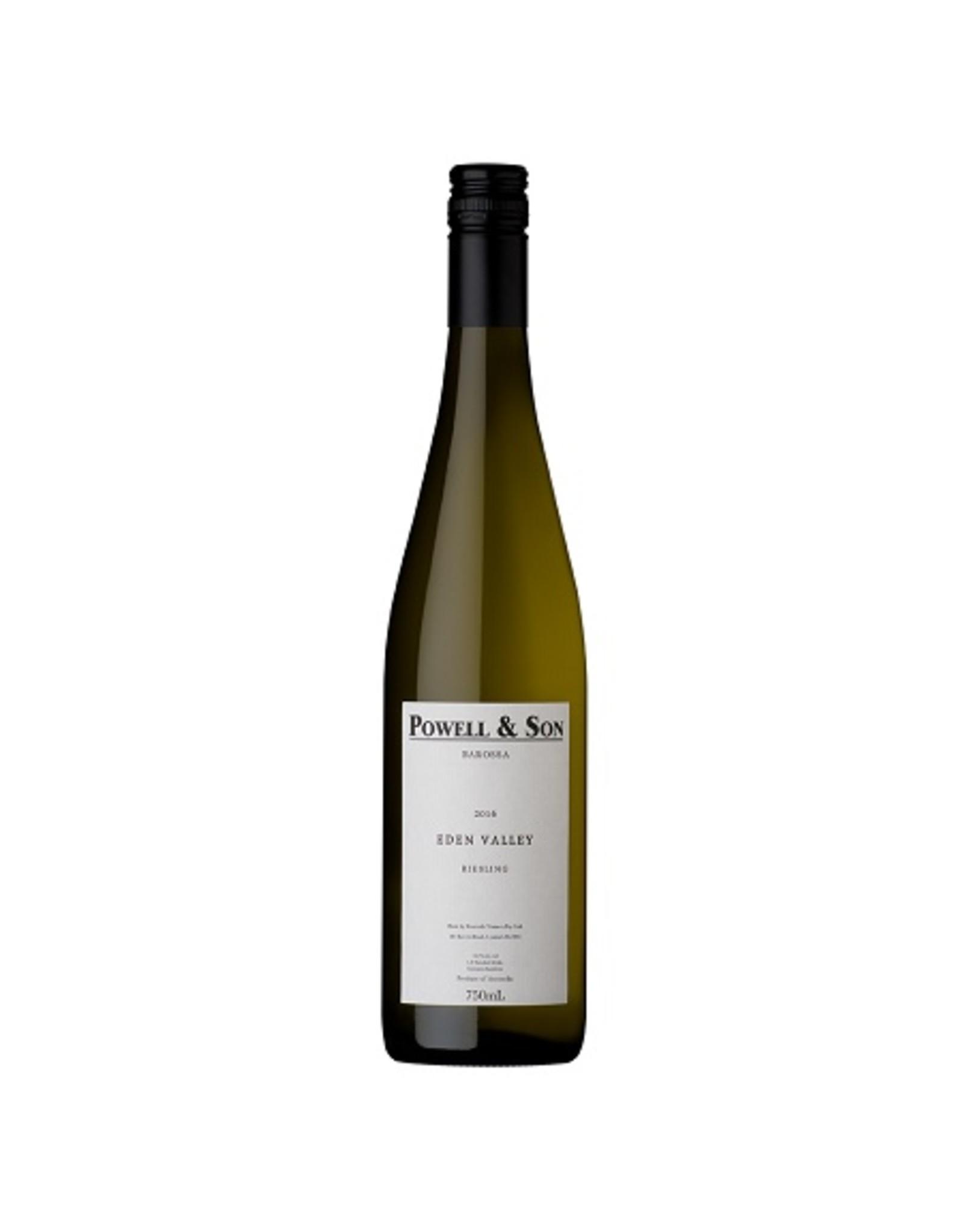 White Wine 2016, Powell & Son, Riesling, Eden Valley, Barossa, Australia, 12.5% Alc., RP91