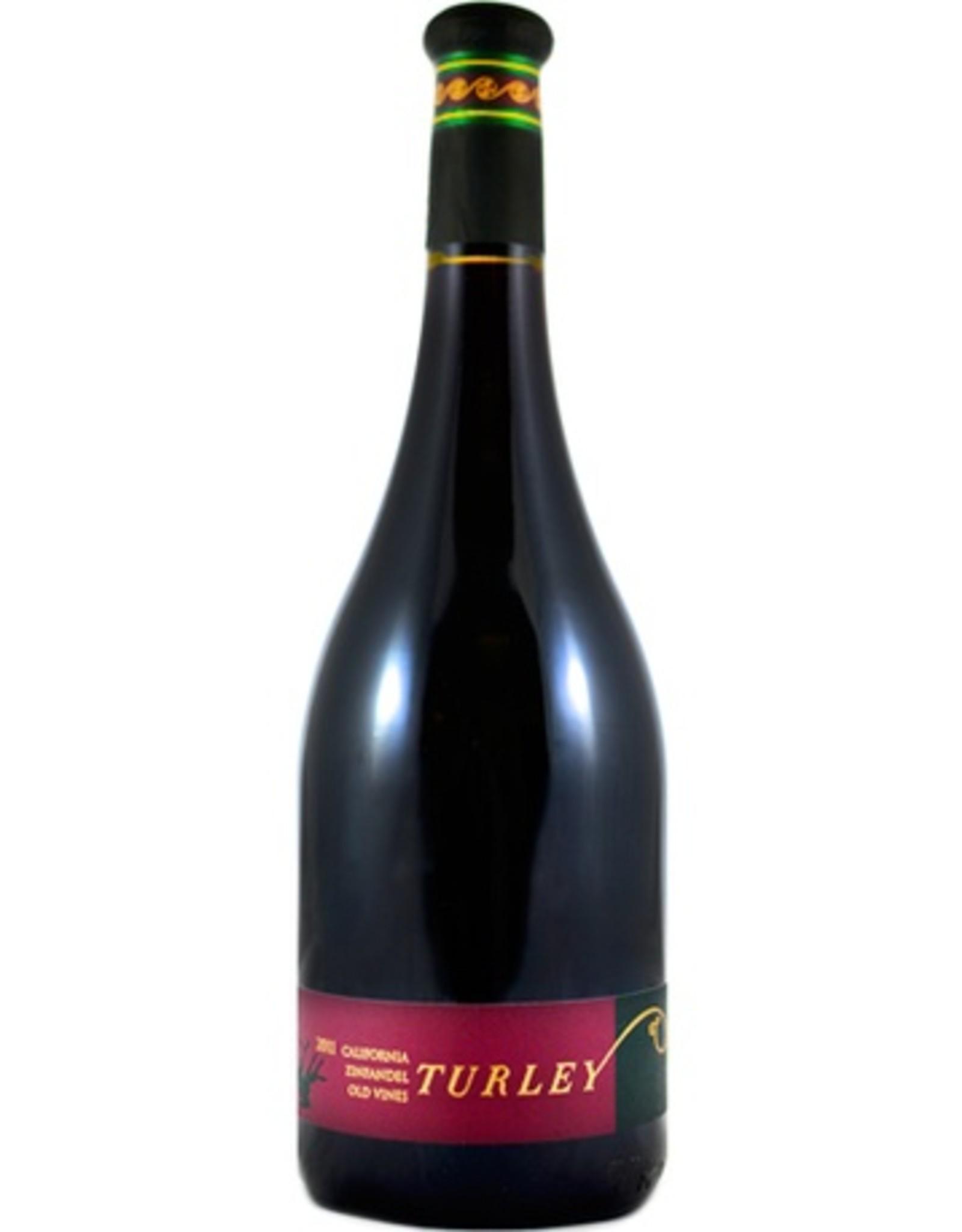 Red Wine 2017, Turley, Old Vine Zinfandel, Multi-regional Blend, Mutliple AVA, California, 15.5% Alc, CTnr, TW95