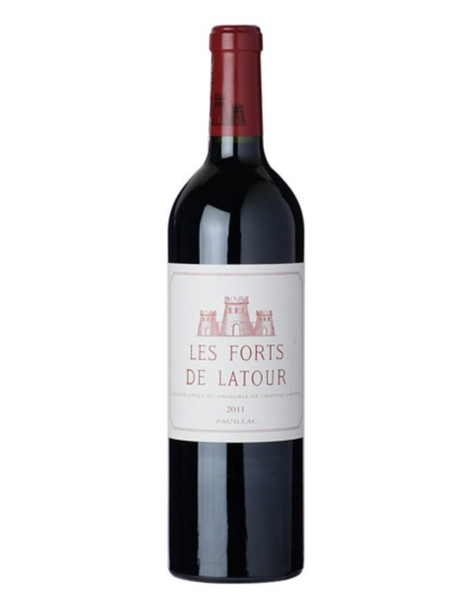 Red Wine 2011, Les Forts de Latour 1st Growth 2nd Grand Cru, Red Bordeaux Blend, Pauillac, Bordeaux, France, 14% Alc, CT90, WE93