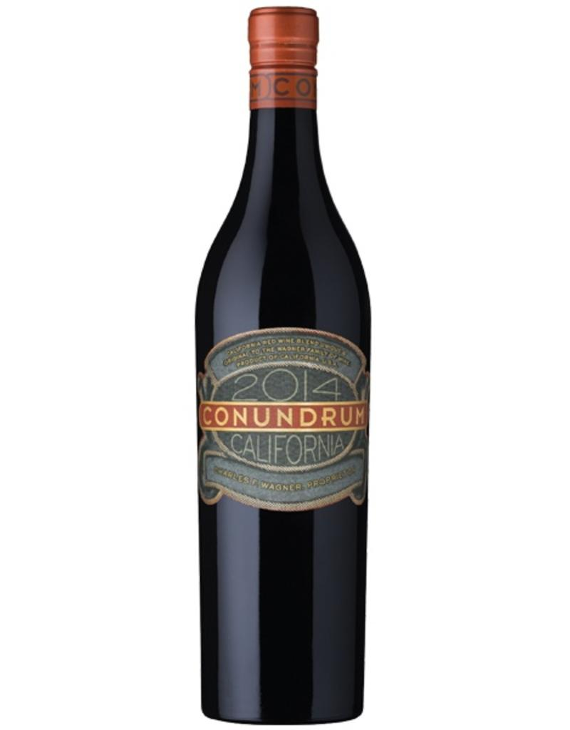 Red Wine 2014, Caymus Conundrum, Red Blend, Rutherford, Napa Valley, California, 14.2% Alc, CT88
