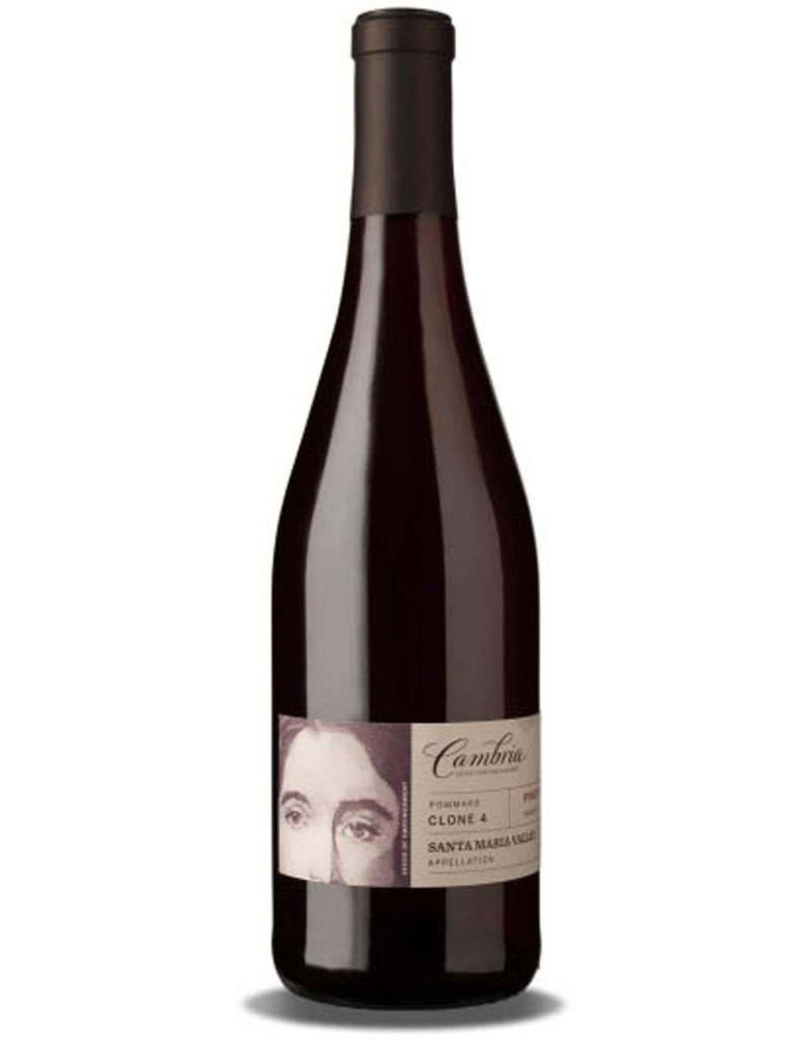 Red Wine 2014, Cambria Pommard Clone 4, Pinot Noir, Santa Maria Valley, Santa Barbara, California, 14.2% Alc, CT