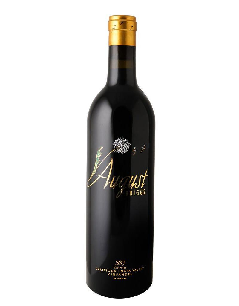 Red Wine 2013, August Briggs, Old Vine Zinfandel, Calistoga, Napa Valley, California, 14.9% Alc, CT90