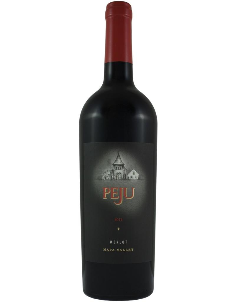 FLASH SALE 2014, PEJU, Merlot, Rutheford, Napa, California, 15.3% Alc