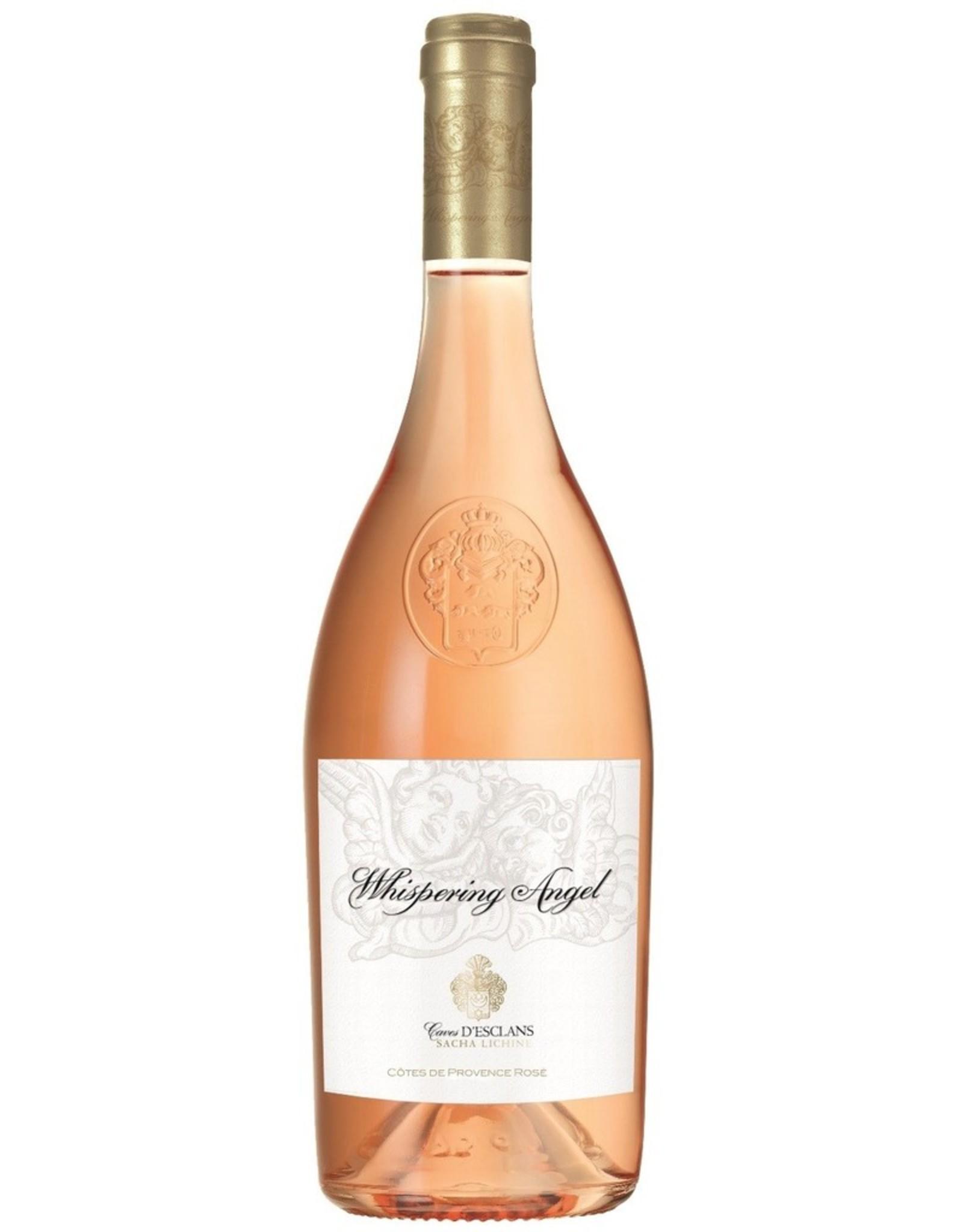 Rose Wine 2020, Chateau d'Esclans Whispering Angel 750ml, Rose, Cotes De Provence, Provence, France, 13% Alc, CT88