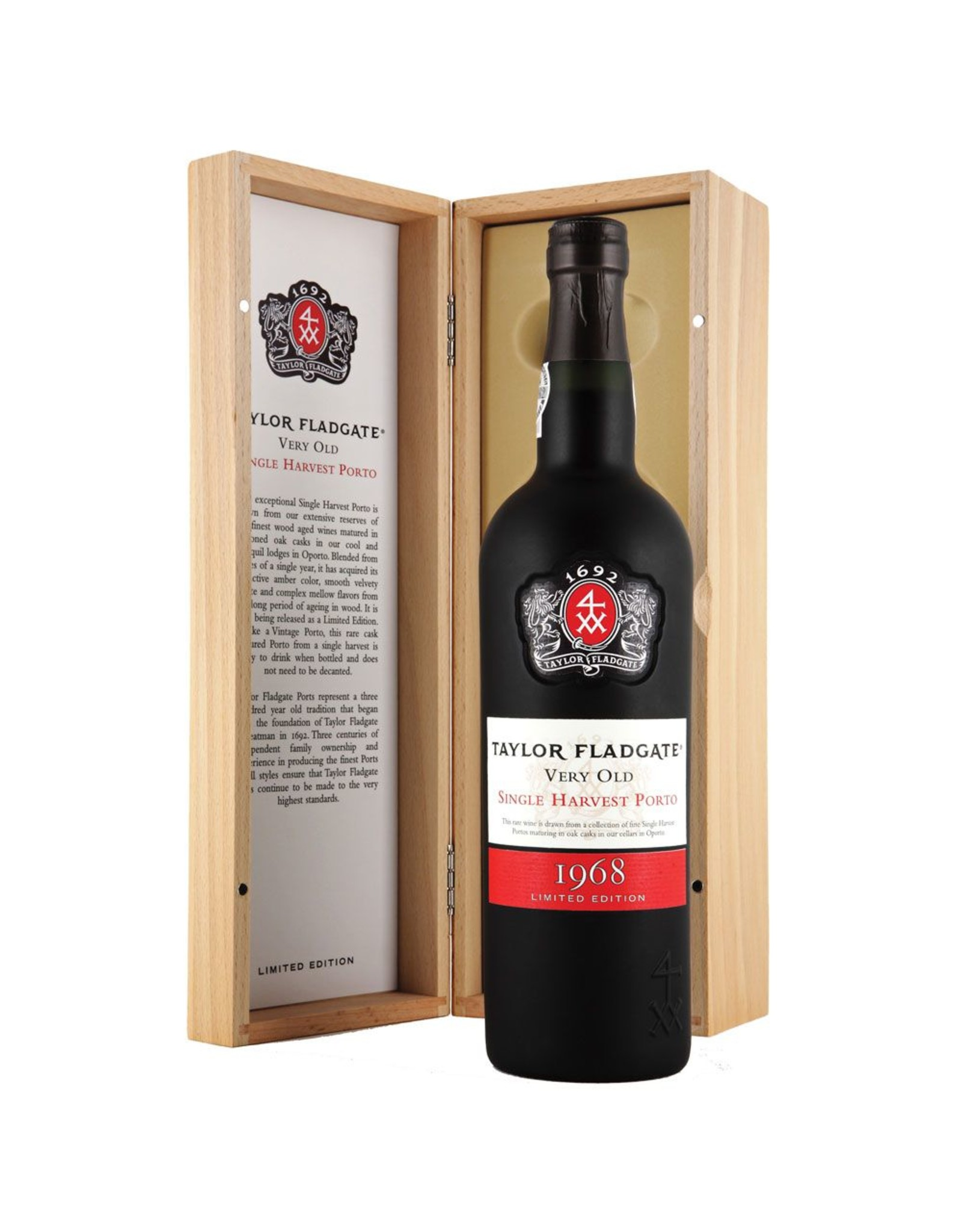 Port 1968, Taylor Fladgate Very Old Single Harvest Port, Port, Douro Valley, Oporto, Portugal, 20.5 % Alc,