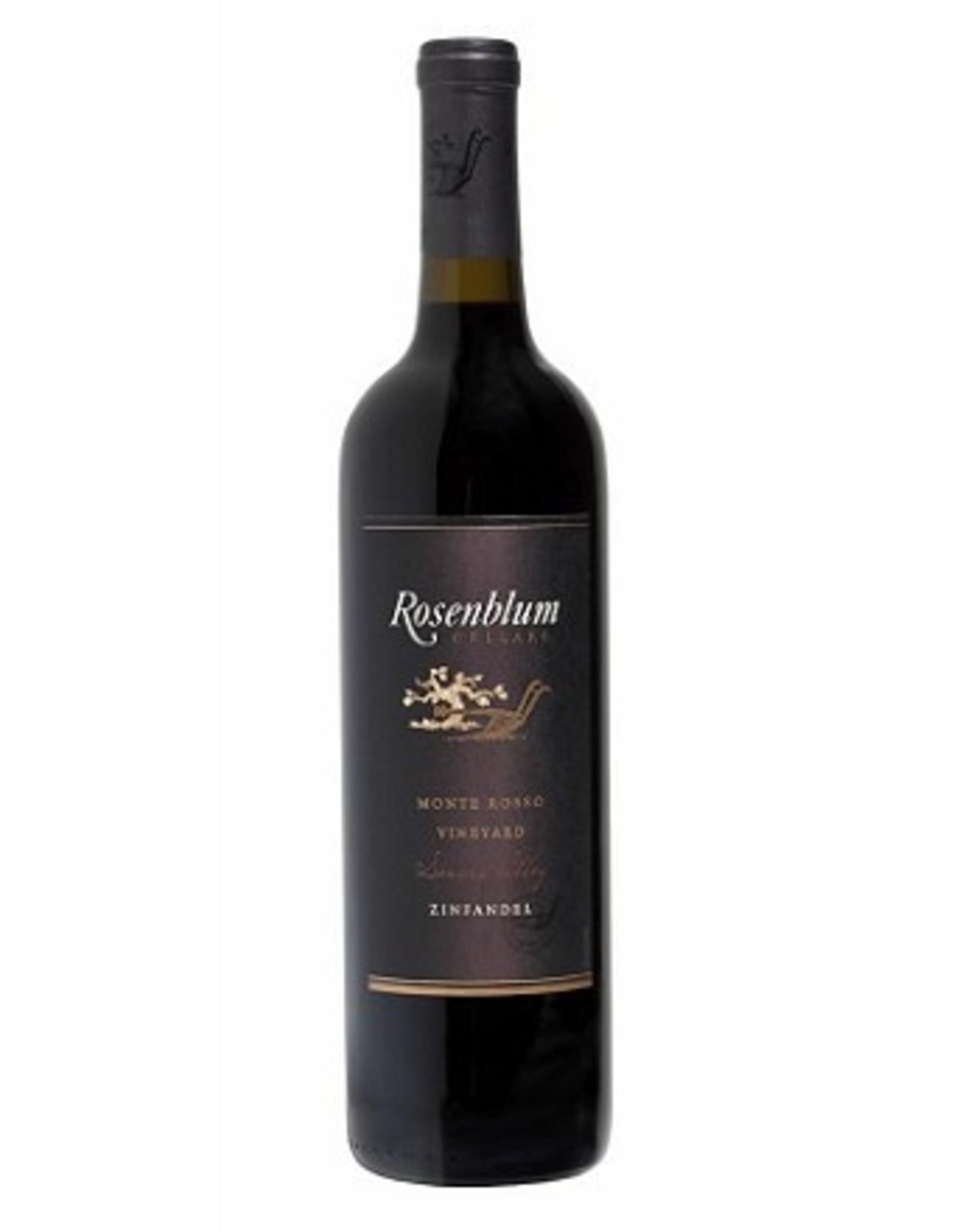 Red Wine 2010, Rosenblum Cellars Zinfandel Reserve Monte Rosso Vineyard, Zinfandel, Dry Creek Valley, Sonoma County, California, 15.9% Alc,