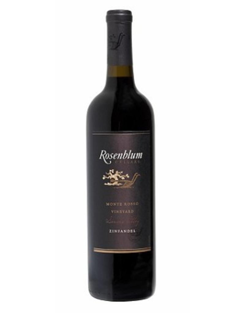 Red Wine 2010, Rosenblum Cellars Zinfandel Reserve Monte Rosso Vineyard, Zinfandel, Dry Creek Valley, Sonoma County, California, 15.9% Alc,