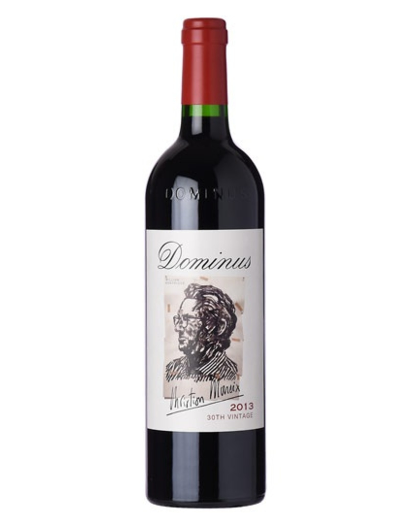 Red Wine 2013, 750ml Dominus Estate Christian Moueix 300 Point, Red Bordeaux Blend, Yountville, Napa Valley, California, 15.0% Alc, CT95.6, RP100 JS100 VN100 DC100