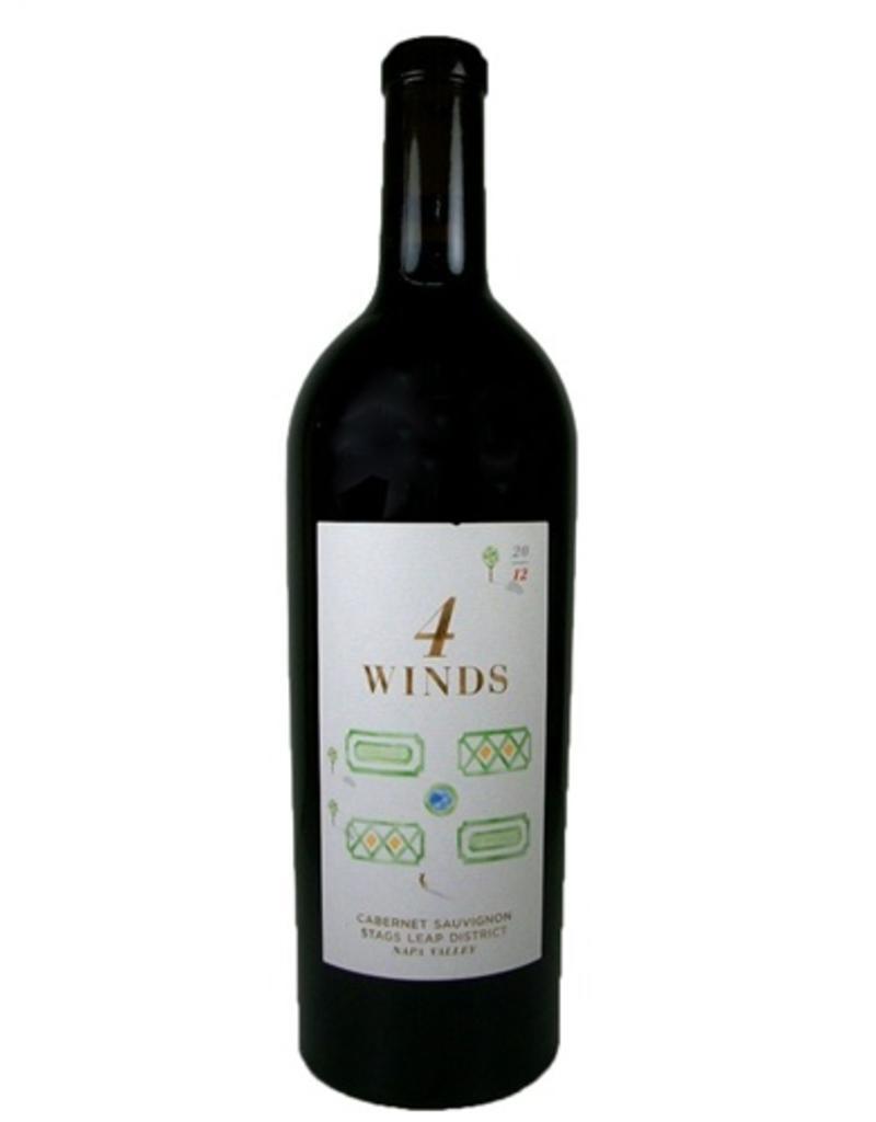 Red Wine 2012, 4 Winds, Cabernet Sauvignon, Stags Leap, Napa Valley, California, 14.8% Alc, CT89