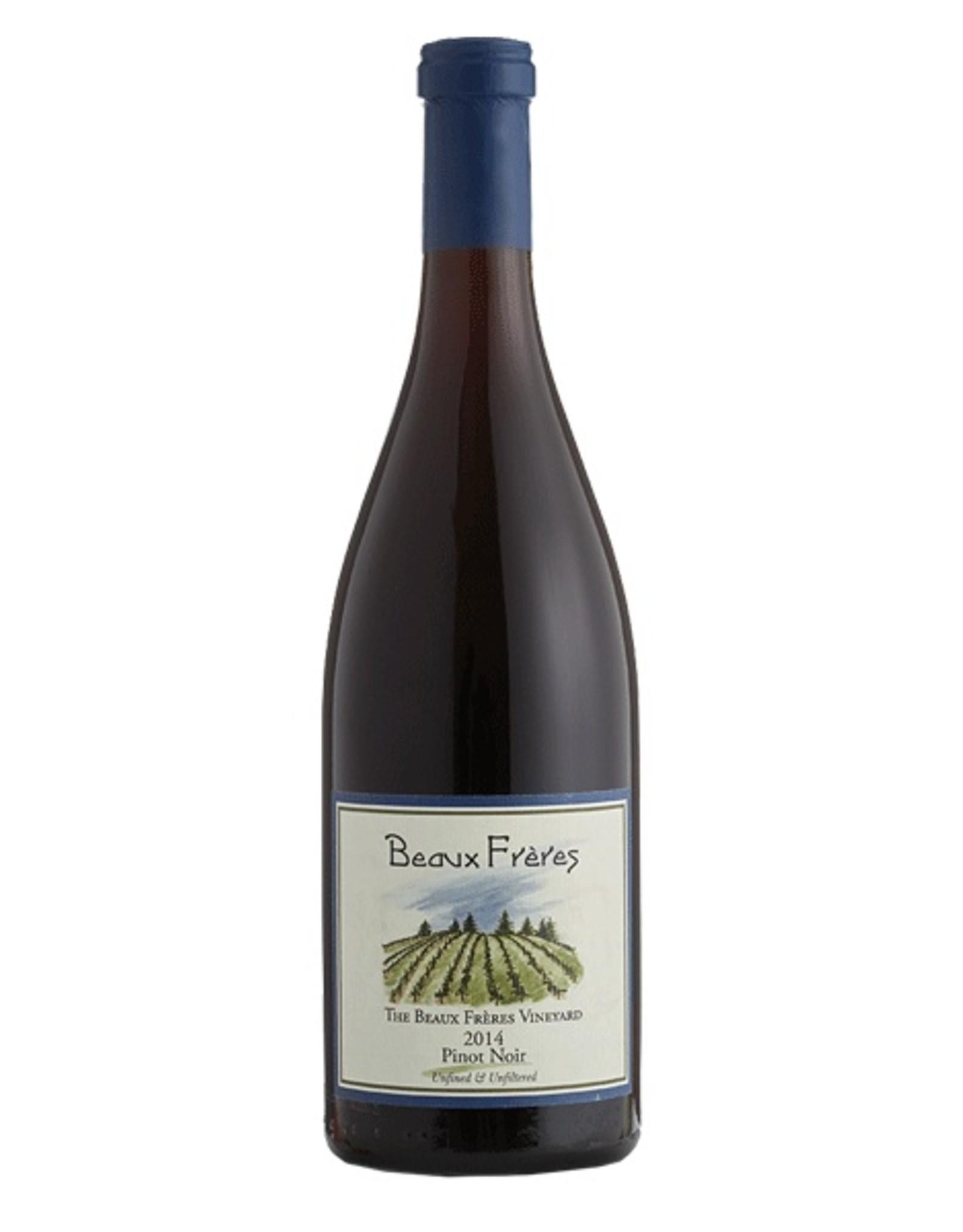 Red Wine 2014, Beaux Freres Vineyard, Pinot Noir, Ribbon Ridge, Willamette Valley, Oregon, 14% Alc, CT91, WS95 JS95, WS#3