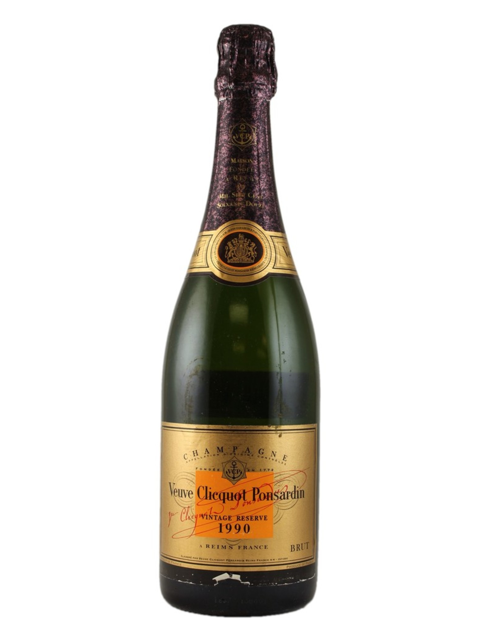 Sparkling Wine 1990, Veuve Clicquot Ponsardin Gold Label Cave Privee, Champagne, Reims, Champagne, France, 12% Alc, CT92, WE97