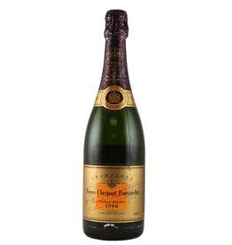 Sparkling Wine 1990 Clicquot, Gold, Cave, Privee