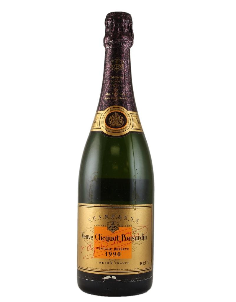 Sparkling Wine 1990, Veuve Clicquot Ponsardin Gold Label Cave Privee, Champagne, Reims, Champagne, France, 12% Alc, CT92, WE97