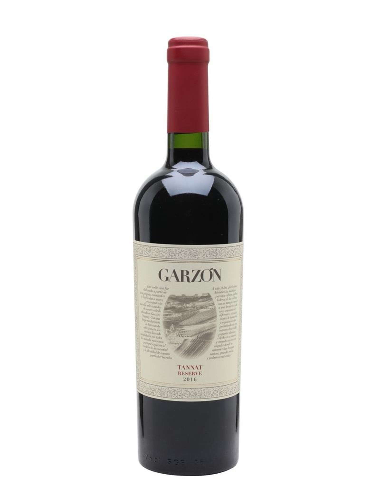 Red Wine 2018, Garzon Reserve, Tannat, Garzon, Garzon, Uruguay, 14.5% Alc, CTnr, JS92