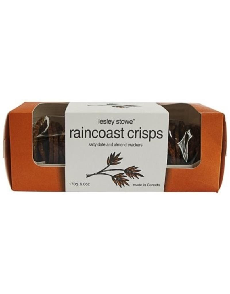 Specialty Cheese Lesley Stowe, Raincoast Crisps, Salty Date and Almond Crackers, Canada, 5.3oz.