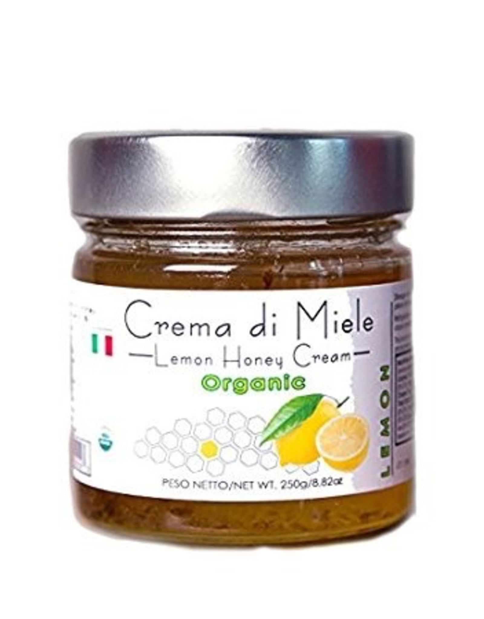 Specialty Foods Crema di Miele, Lemon Infused Acacia Honey, 250g