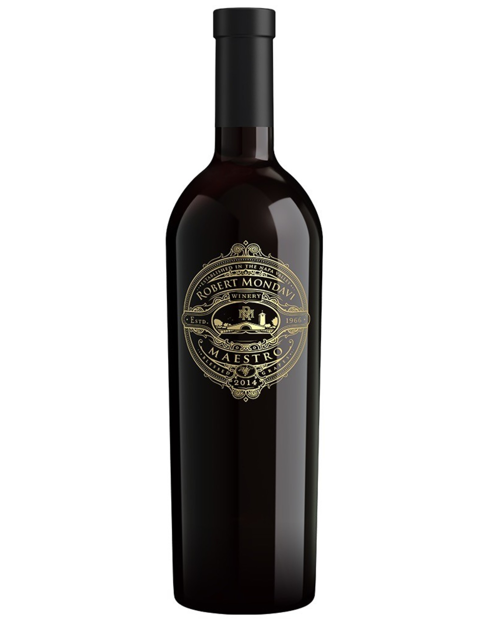 Red Wine 2017, Mondavi Maestro, Red Bordeaux Blend, Napa Valley, North Coast, California, 14.5% Alc, CTnr, TW93