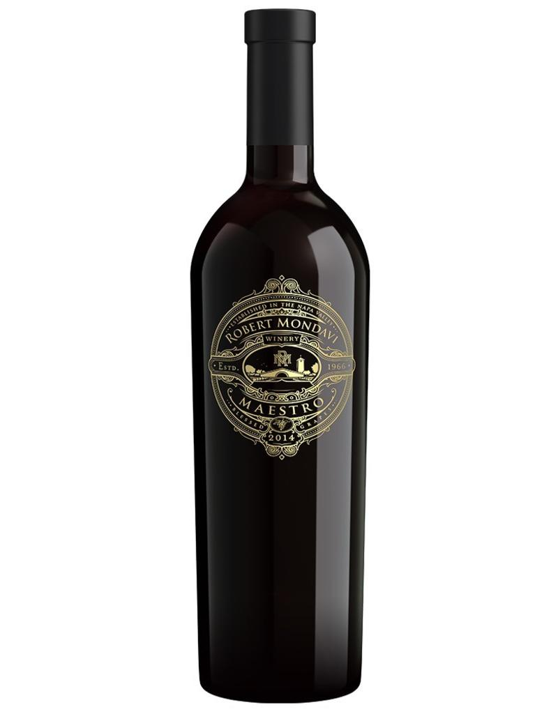 Red Wine 2014, Mondavi Maestro, Red Bordeaux Blend, Napa Valley, North Coast, California, 14.5% Alc, CT