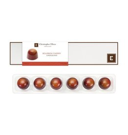 Chocolates Christopher Elbow, Bourbon Cherry 6pc