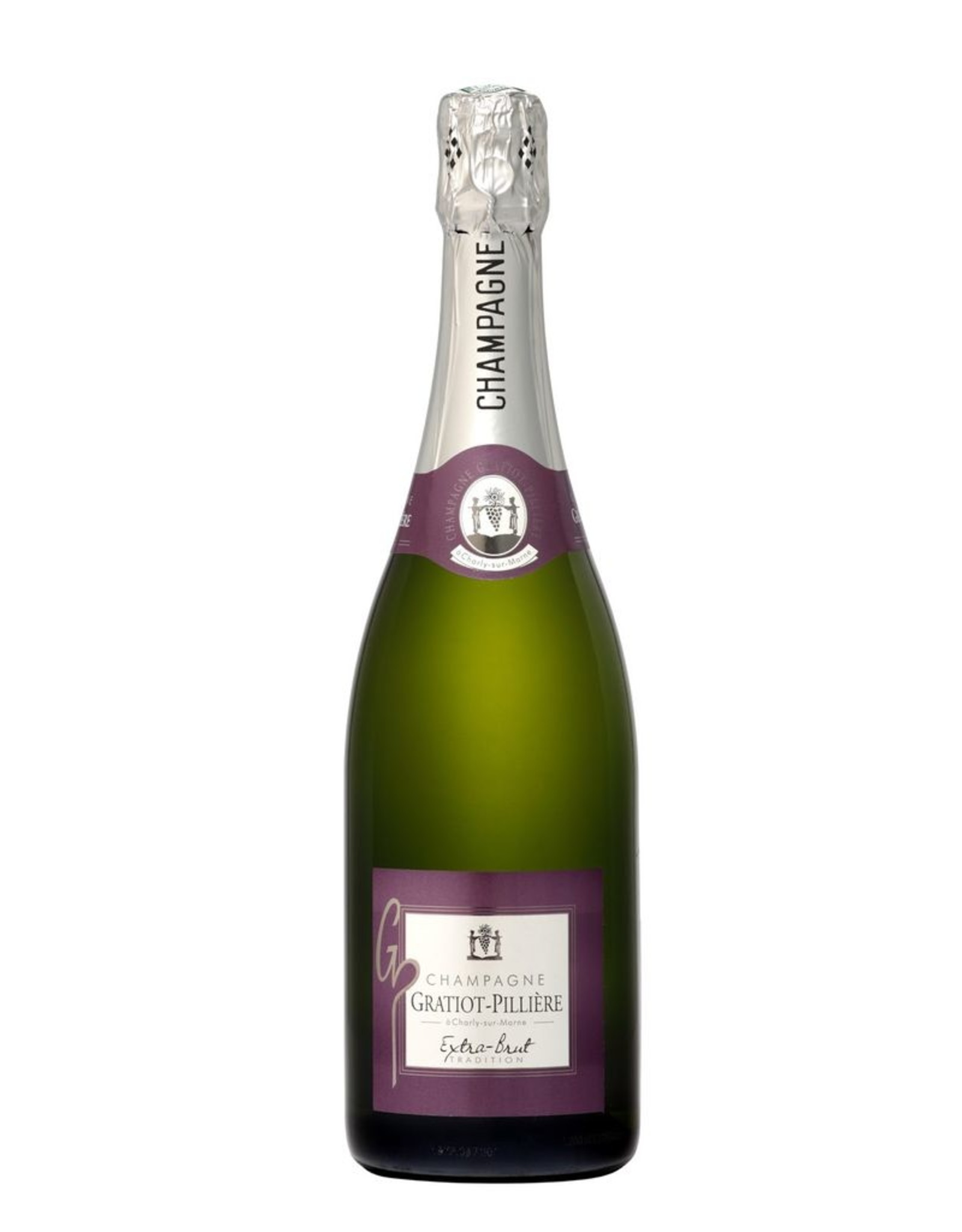 Sparkling Wine NV, Gratiot-Pilliere Extra Brut, Champagne, Charly-sur-Marne, Champagne, France, 12% Alc, CT TW91