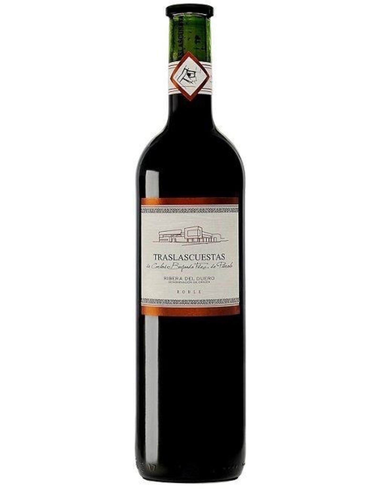 Red Wine 2013, Traslascuestas, Tempranillo, Roble, Ribera Del Duero, Spain, 14% Alc, CT