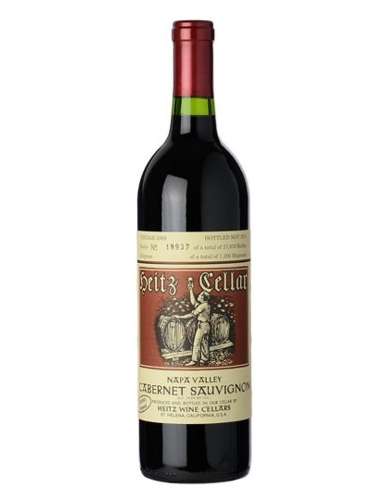 Red Wine 2009, Heitz Cellars Marthas Vineyard, Cabernet Sauvignon, St. Helena, California, USA, 14.5% Alc, CT91, VN93