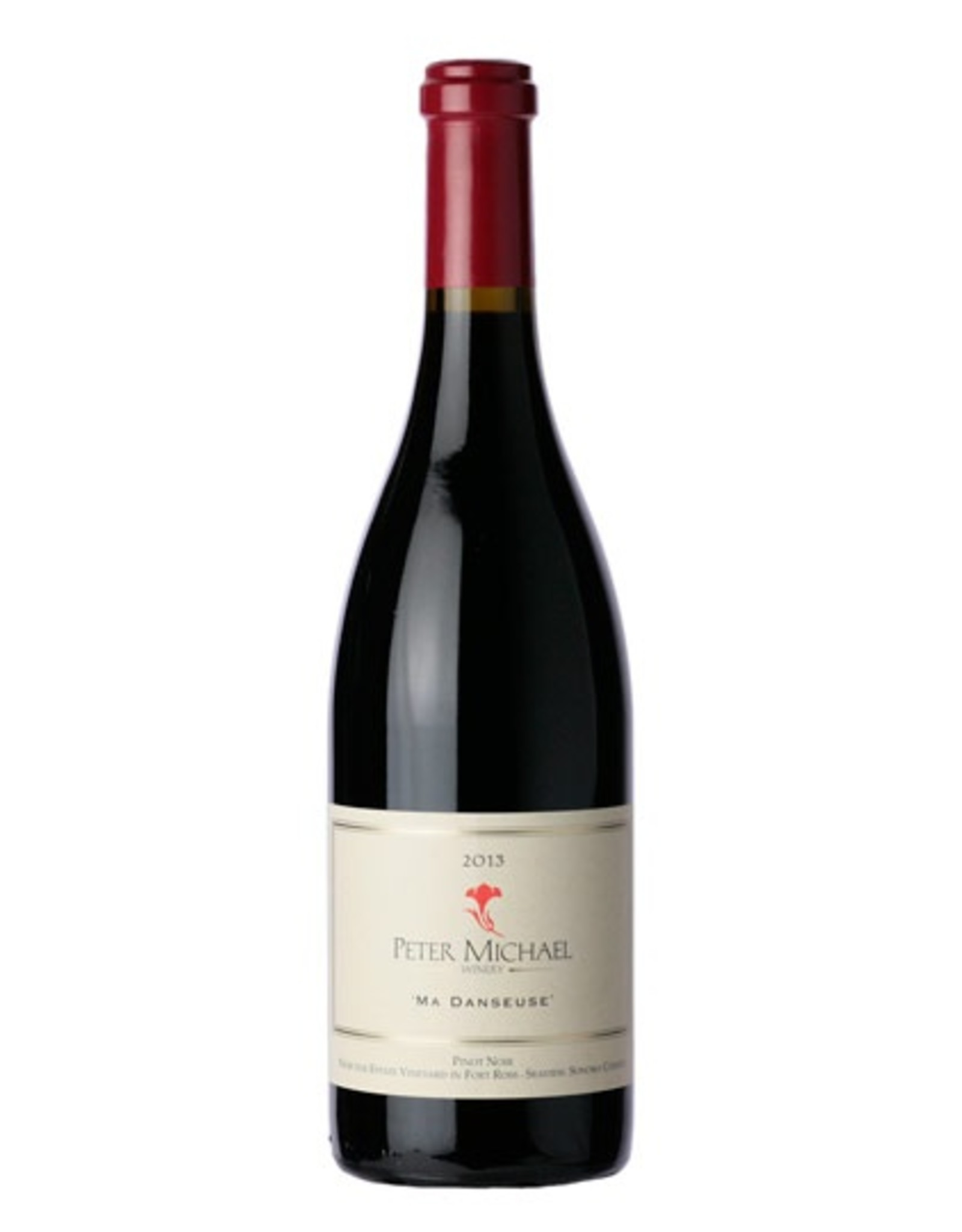 Red Wine 2013, Peter Michael Ma Danseuse, Pinot Noir, Seaview, Sonoma County, California,14.4% Alc, CT92, JS97