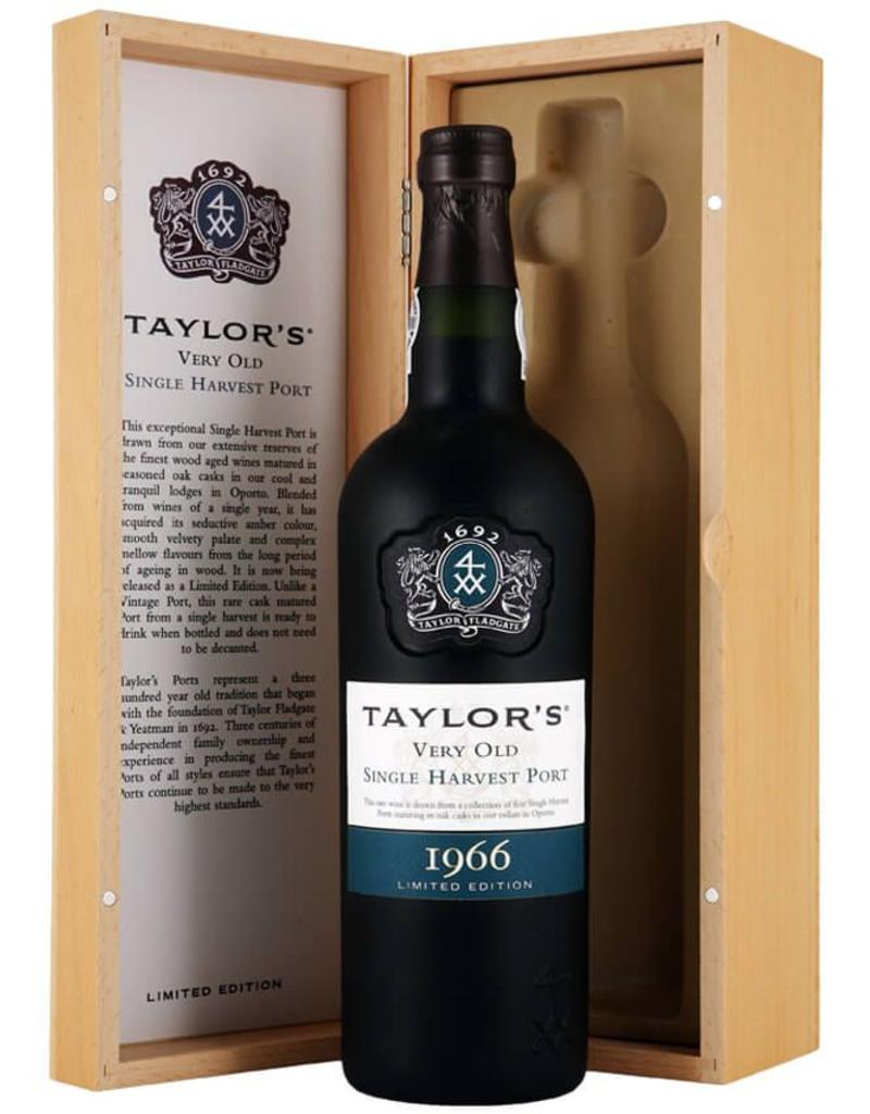 Port 1966, Taylor Fladgate Very Old Single Harvest Port, Port, Douro Valley, Oporto, Portugal, 20% Alc, CT94