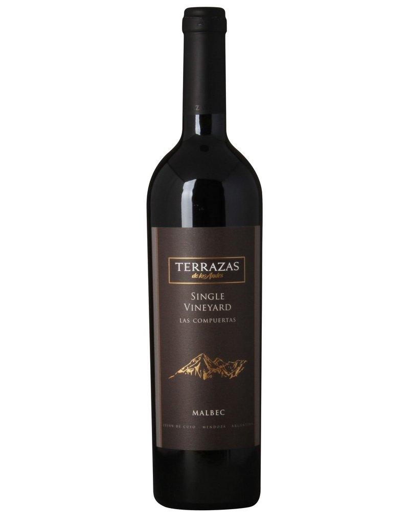 Red Wine 2009, Terrazas de los Andes Las Compuertas, Malbec, Lujan de Cuyo, Mendoza, Argentina, 15% Alc, CT89