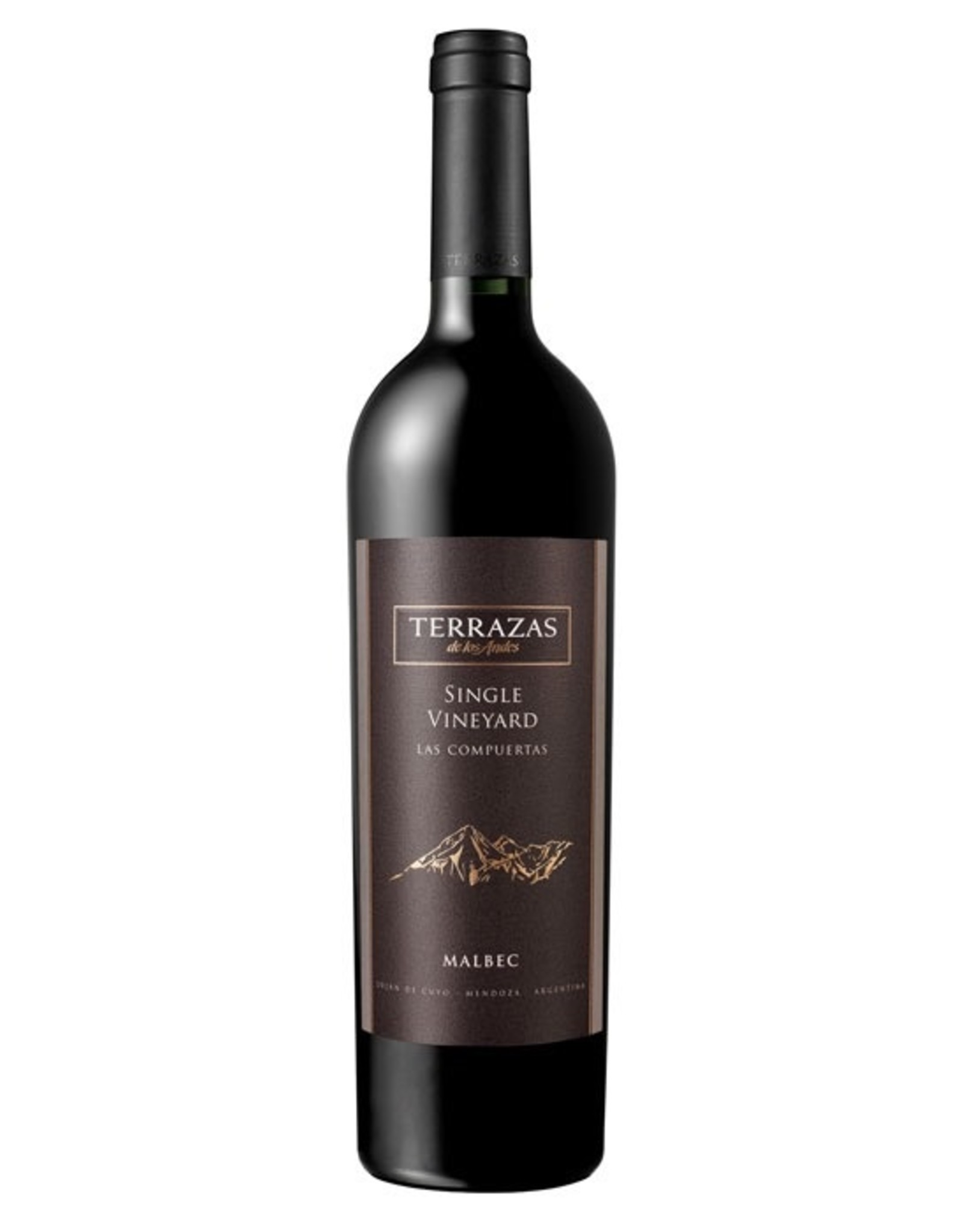 Red Wine 2010, Terrazas de los Andes Las Compuertas, Malbec, Lujan de Cuyo, Mendoza, Argentina, 15% Alc, CT
