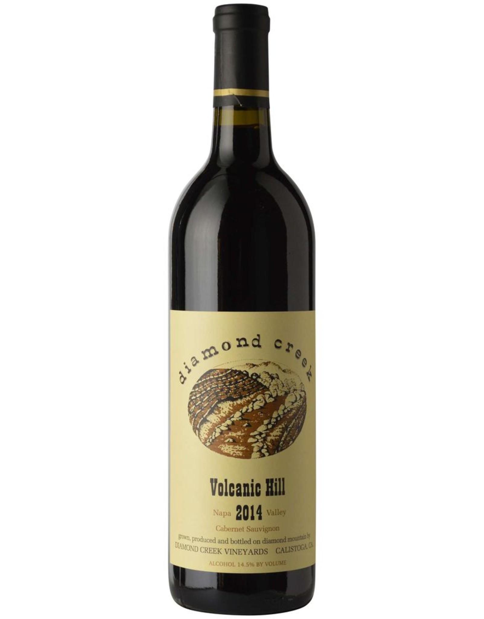 Red Wine 2014, Diamond Creek Volcanic Hill, Cabernet Sauvignon, Diamond Mountain, Napa Valley, California, 14.5% Alc, CT96, RP96 JS96 WW96