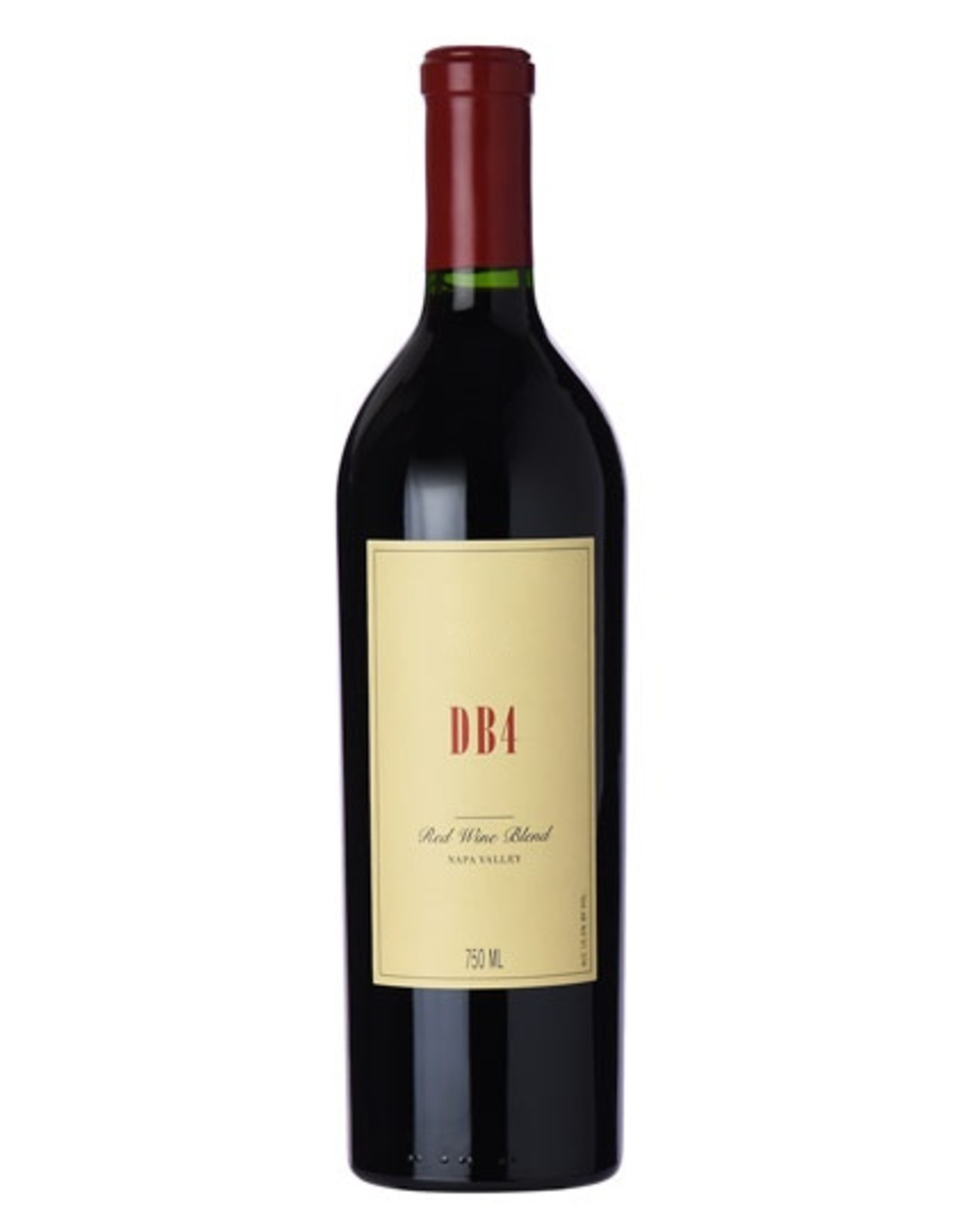 Red Wine 2015, Bryant Family DB4, Red Bordeaux Blend, Multi-regional Blend, Napa Valley, California, 15.3% Alc, CT94, WS92