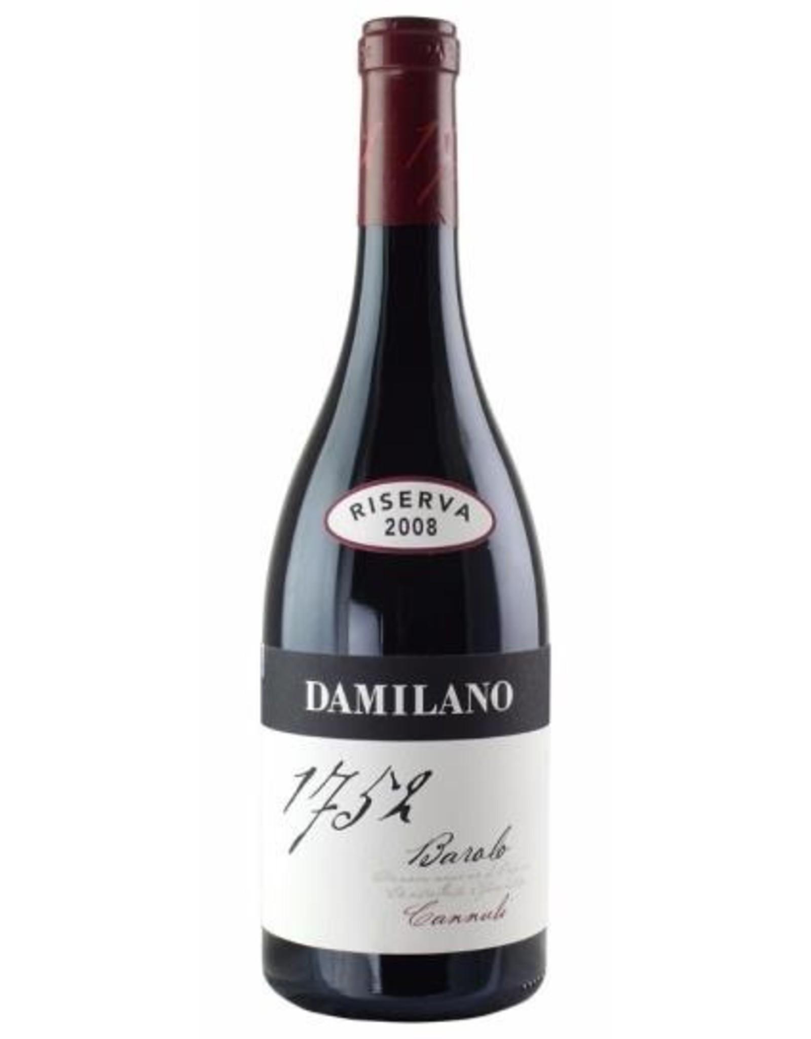 Red Wine 2008, Damilano Reserve Cannubi Vineyard, Nebbiolo, Barolo, Piemonte, Italy, 14% Alc, CT
