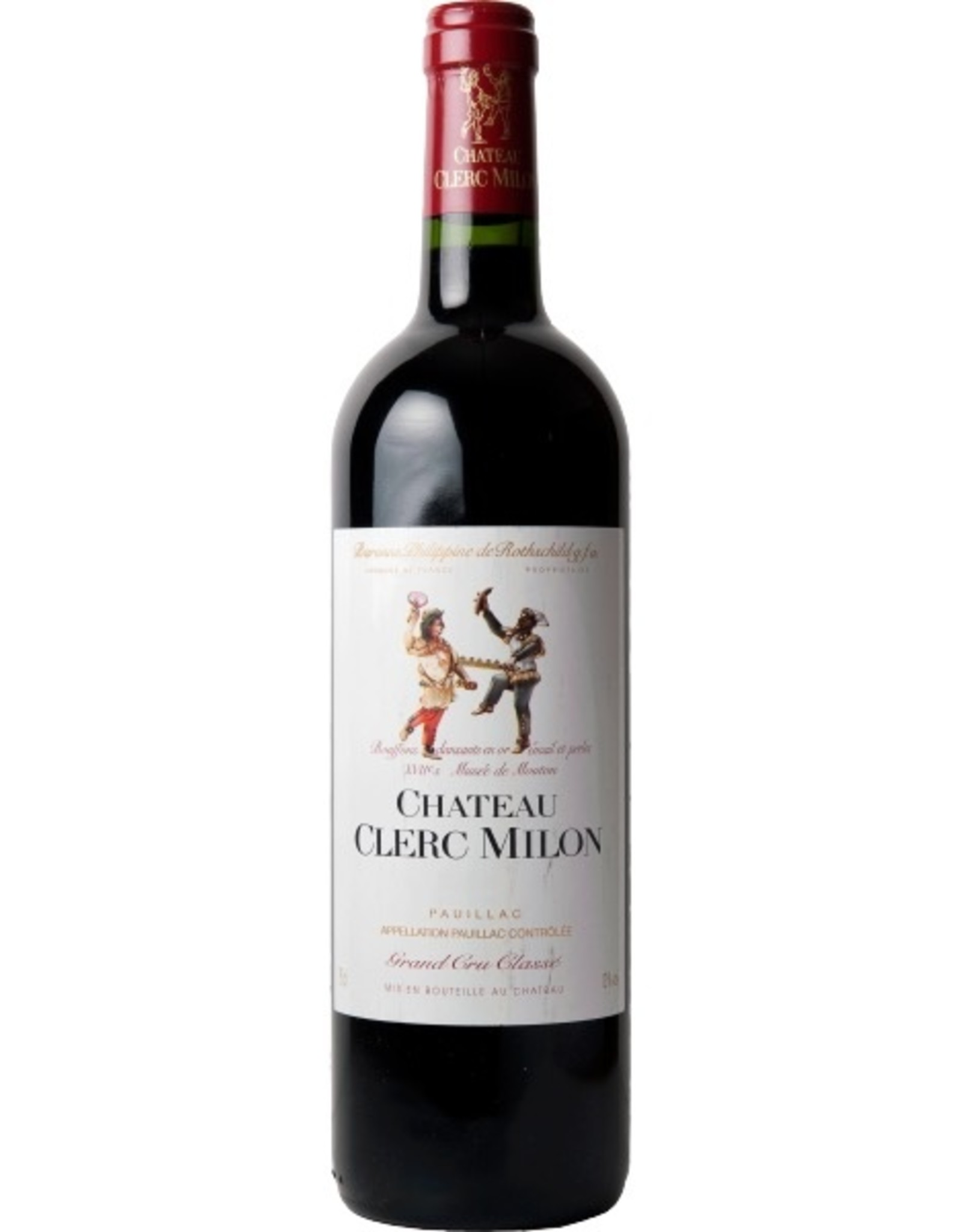 Red Wine 2009, Clerc Milon by Phillipe de Rothchild Grand Cru Classe, Red Bordeaux Blend, Pauillac, Bordeaux, France, 13.5% Alc, CT92, JS95 WE94 WS93 RP92