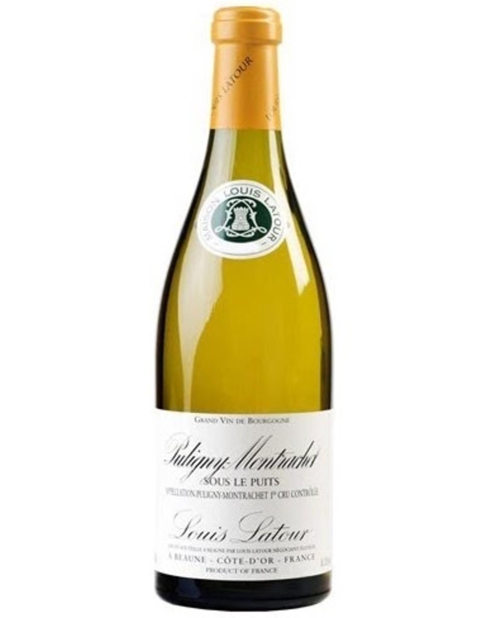 White Wine 2011, Louis Latour Sous le Puits Premier Cru Cote-D-Or, Chardonnay, Puligny-Montrachet, Burgundy, France, 13% Alc, CT90.7, TW95