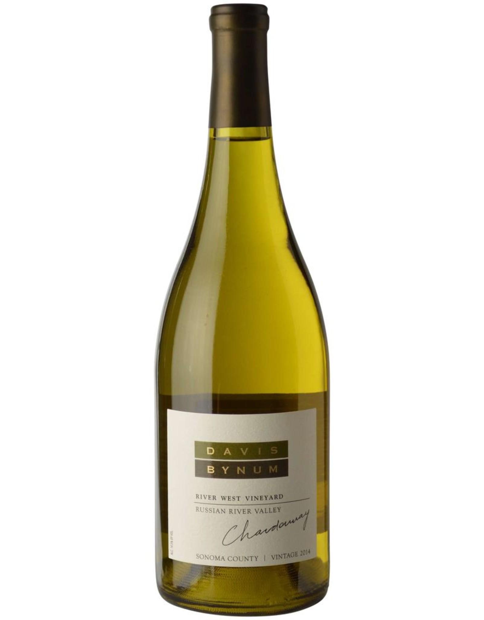 White Wine 2014, Davis Bynum River West Vineyard, Chardonnay, Russian River, Sonoma, California, USA, 14.5% Alc