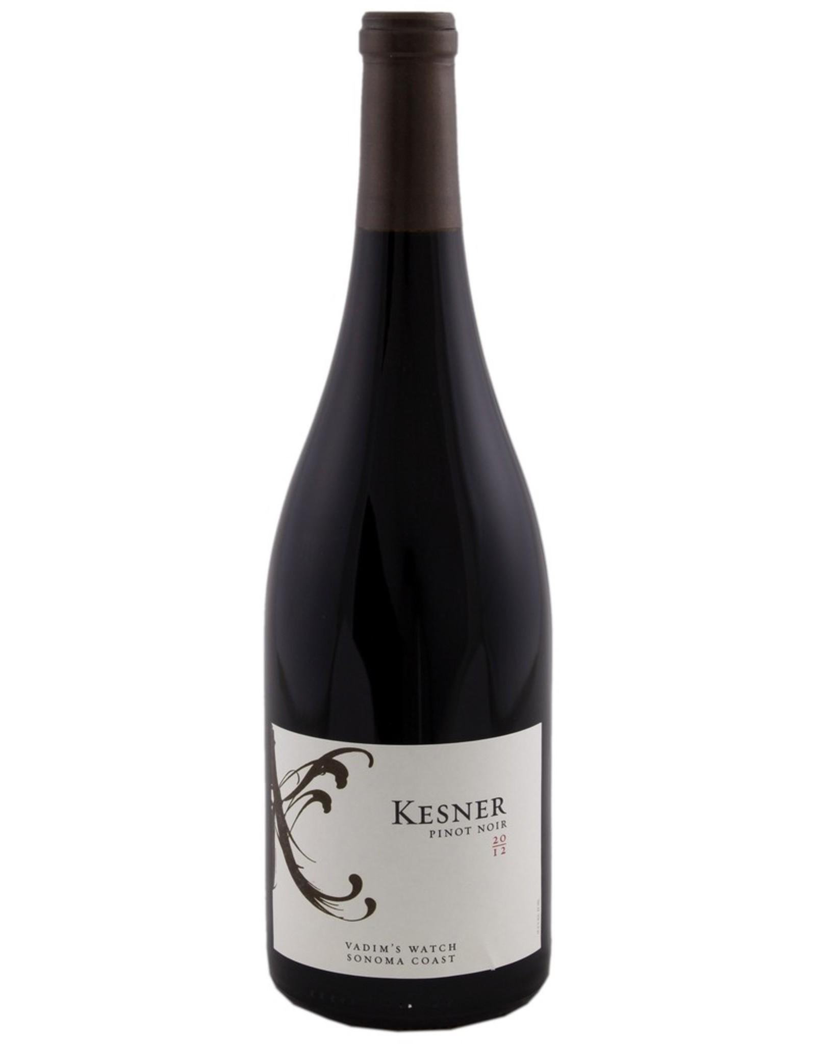 Red Wine 2013, Kesner, Vadim's Watch, Pinot Noir, Sonoma Coast, Sonoma County, California, 13.8% Alc, CT92
