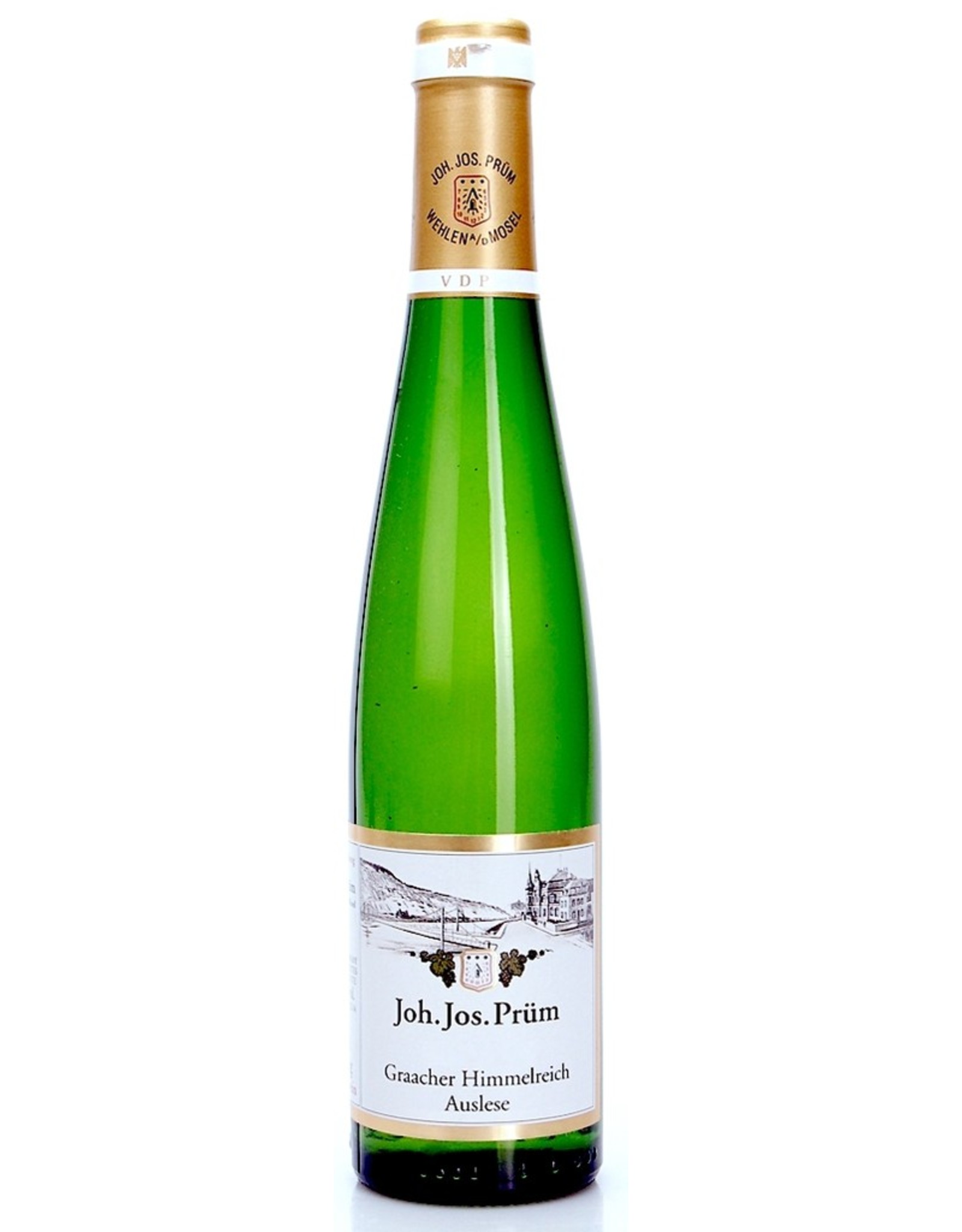 White Wine 2015, 375ml Joh. Jos. Prum GOLD CAP Auslese, Riesling, Graacher Himmelreich, Mosel, Germany, 7.5% Alc, CT95.5 RP95 V94