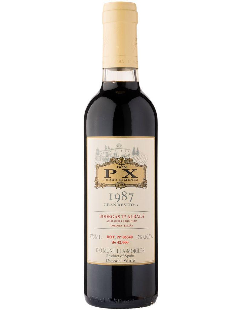 Fortified Winesa 1987, Toro Albala Don Pedro Ximenez PX Gran Reserva Sherry, Pedro Ximenez, Montilla-Moriles, Andalucia, Spain, 17% Alc., CT RP94